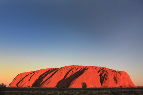 Uluru at Sunset, Australia, 2008